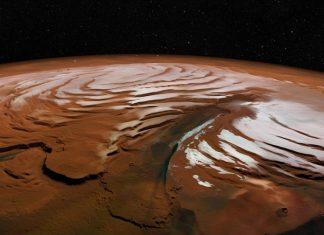 Mars, Canyon, North pole