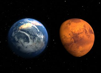 mars-and-earth