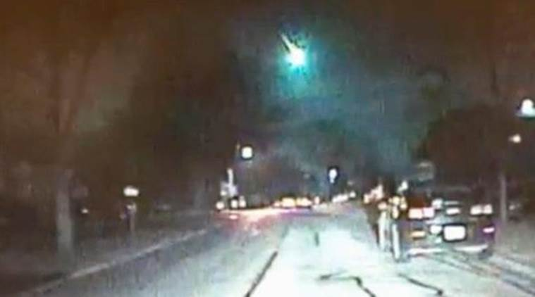 Meteor caught attention of many on its way to Lake Michigan