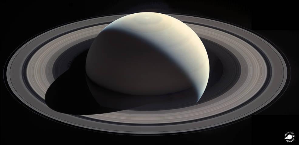 NASA Cassini share Valentines gift with Love #CassiniInspires