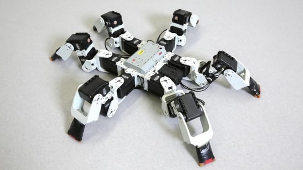 "Swiss Researchers Figure out ""Bipod"" Gait for Making Six-Legged Robots Run Faster"
