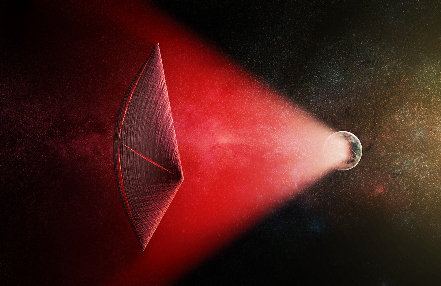 Intergalactic Pulses of Radio Bursts