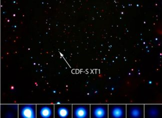 "NASA Finds ""Mystifying"" Flash in Universe's Deepest X-Ray Image"