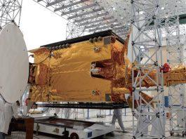 Chinasat-9A Satellite Setup