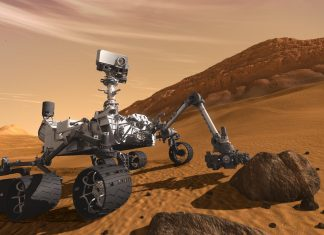 Curiosity Mars Rover