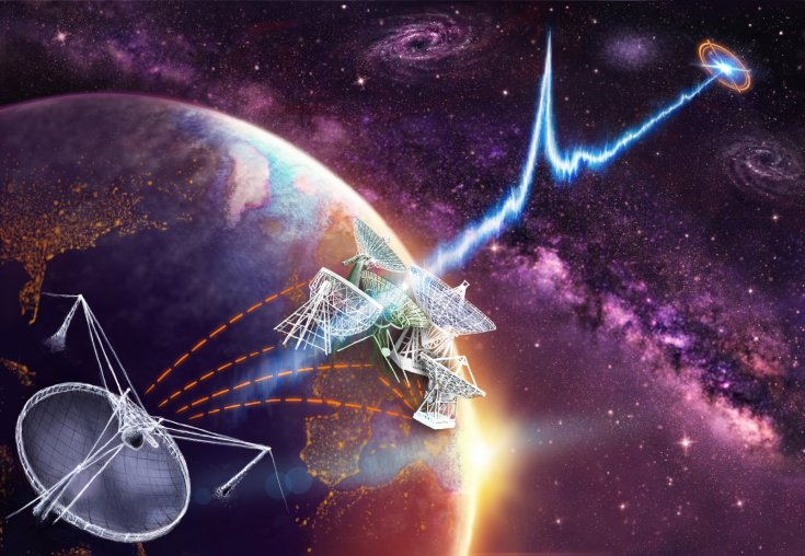 Source of mystery space signals tracked to dwarf galaxy 3 billion light years away Scientists pinpoint location of repeating fast radio burst FRB 121102 – but they still don't know what's producing it. Hannah Osborne By Hannah Osborne Updated January 5, 2017 15:55 GMT 02:18 Source of mystery space signals tracked to dwarf galaxy 3 billion light years away Source of mystery space signals tracked to dwarf galaxy 3 billion light years away NOVAastronomieNL