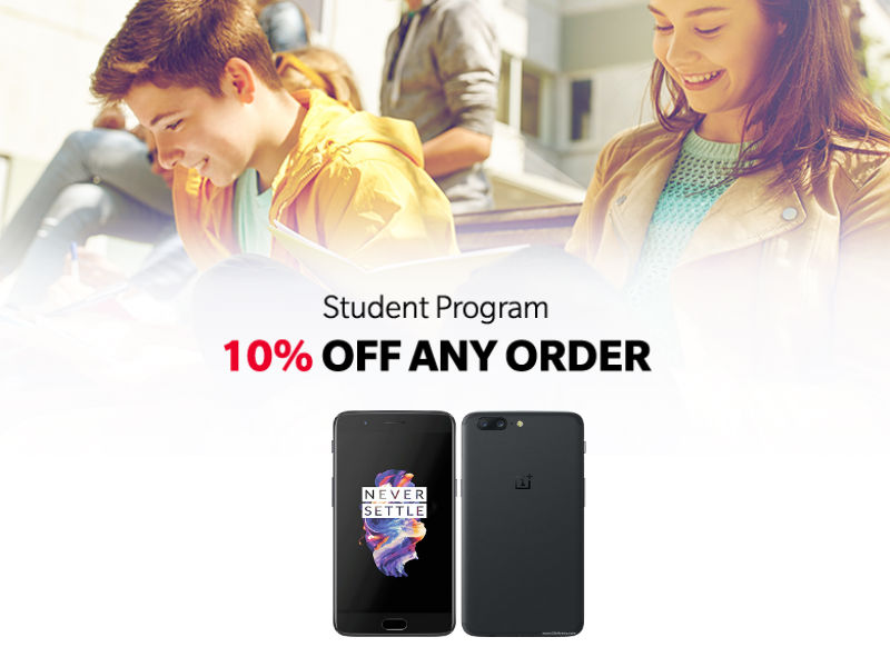 OnePlus5 Student Offer
