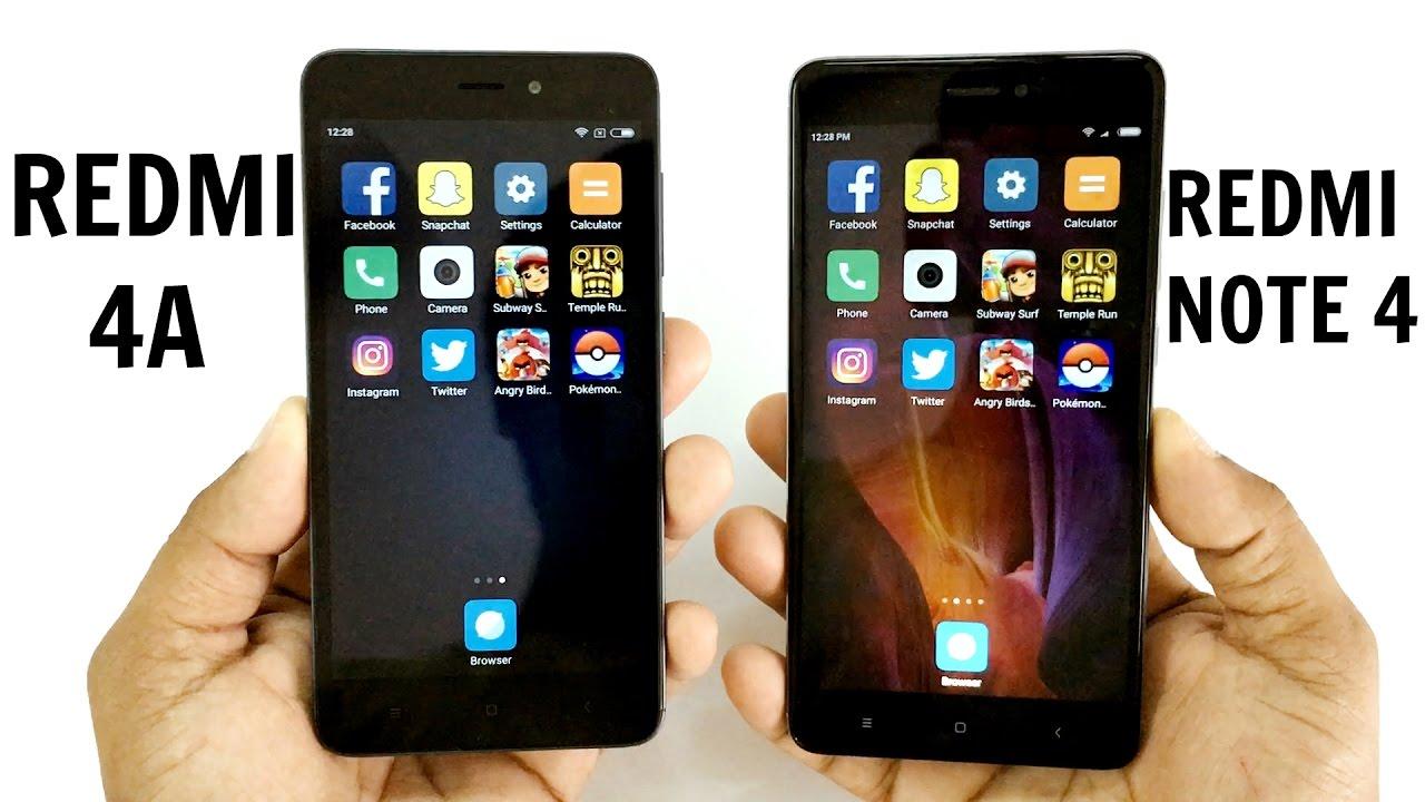 Pre-Orders for Xiaomi Redmi 4 and Redmi 4A to Open at 12 pm IST on Mi.Com