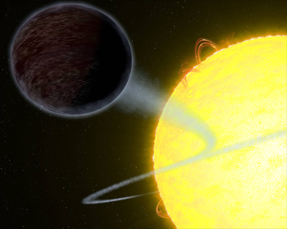Watch this stunning image of blistering pitch black planet captured by NASA Hubble telscope