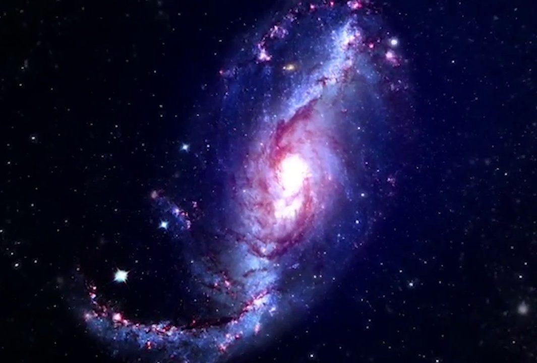 milky way cosmic Rays