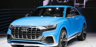 Audi Q8 Concept car Detroit