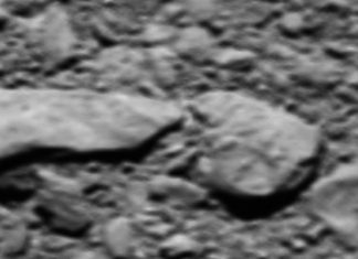 ESA releases images taken from Rosetta spacecraft before the crash image