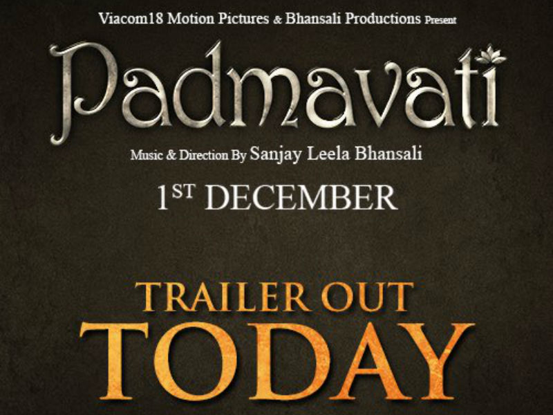 Padmavati Official Trailer 9-10-2017