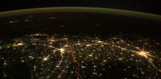 Watch: Astronaut tweets breathtaking image of illuminated Indian on Diwali shot from space