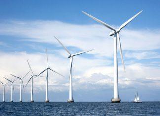 wind energy over ocean