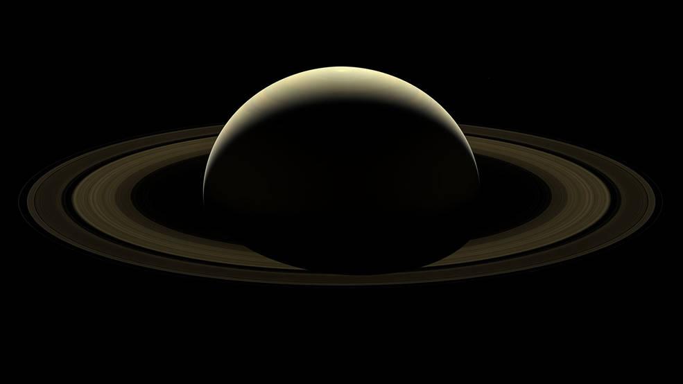 NASA shares astonishing farewell image of Saturn