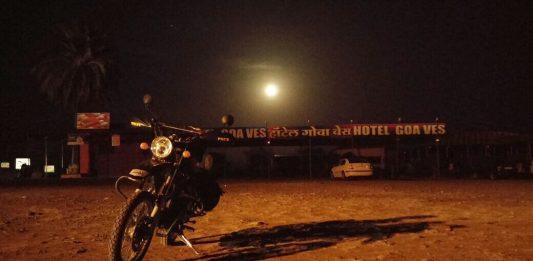 HImalyan under moon Light