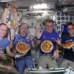Pizza Party In space Sounds Surprising: Check out NASA scientist's Pizza Bash