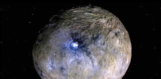 Scientists are assuming an active new world on Cerus