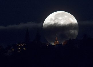 Take a Glimpse of the Super Sky Show: The Supermoon