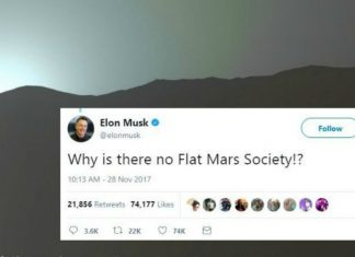 Clash of Elan Musk Verses The flat Earthers: Cold War on 'Is Mars Flat Too?""