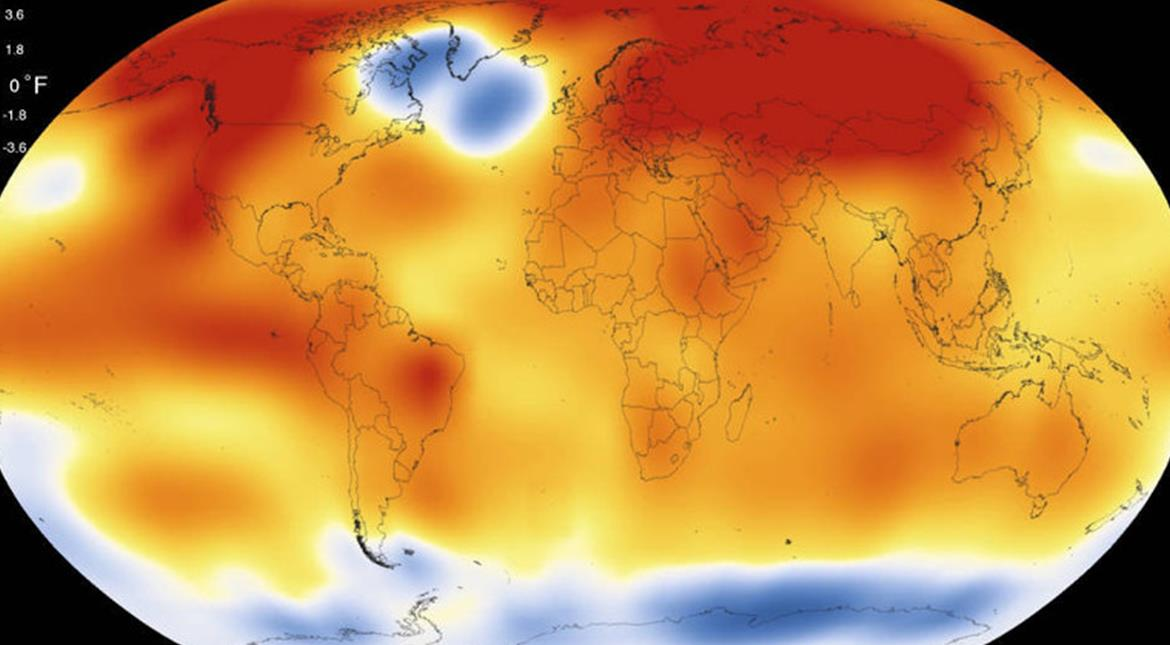 2017 may be second warmest year on record, says NASA