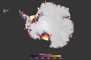 Scientists discovered the velocity of ice melting from Antarctica