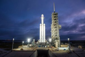 SpaceX Falcon 9 is ready to launch with three satellites onboard