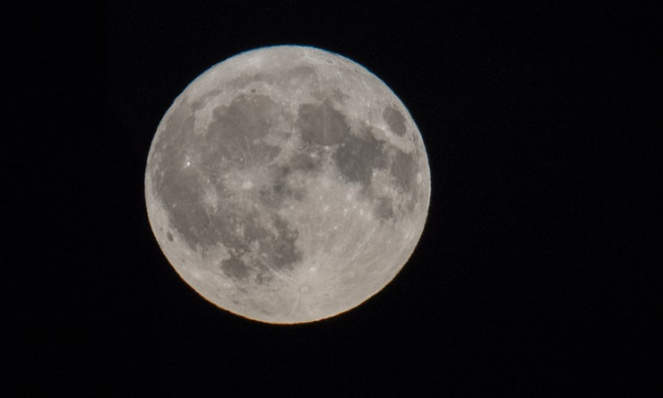 First of March's Two Full Moons On Display Tonight