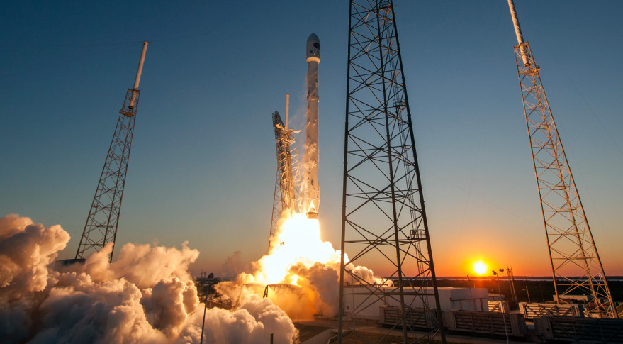 SpaceX will launch its Falcon 9 with a spanish satellite early Tuesday: Watch Live