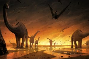 Biotic Revenge hypothesis states that toxic plants led to extinction of dinosaurs