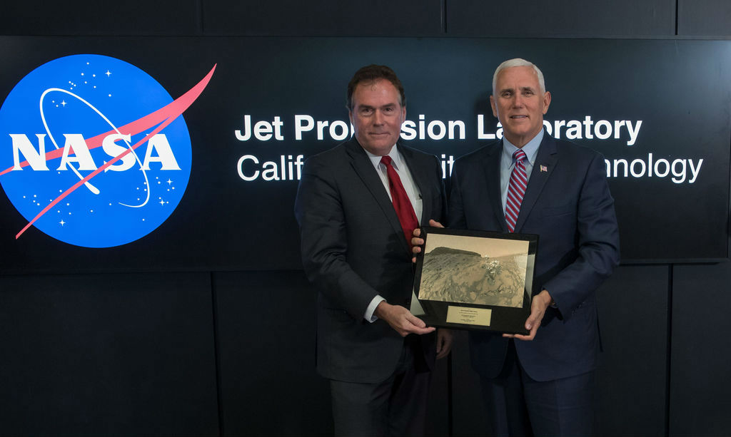 Vice President at JPL