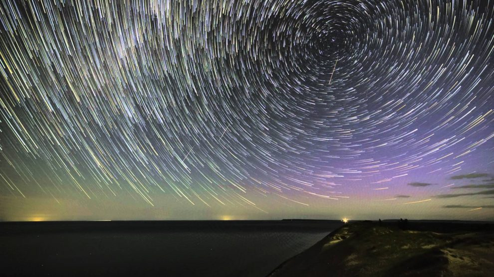 perseids time lapse