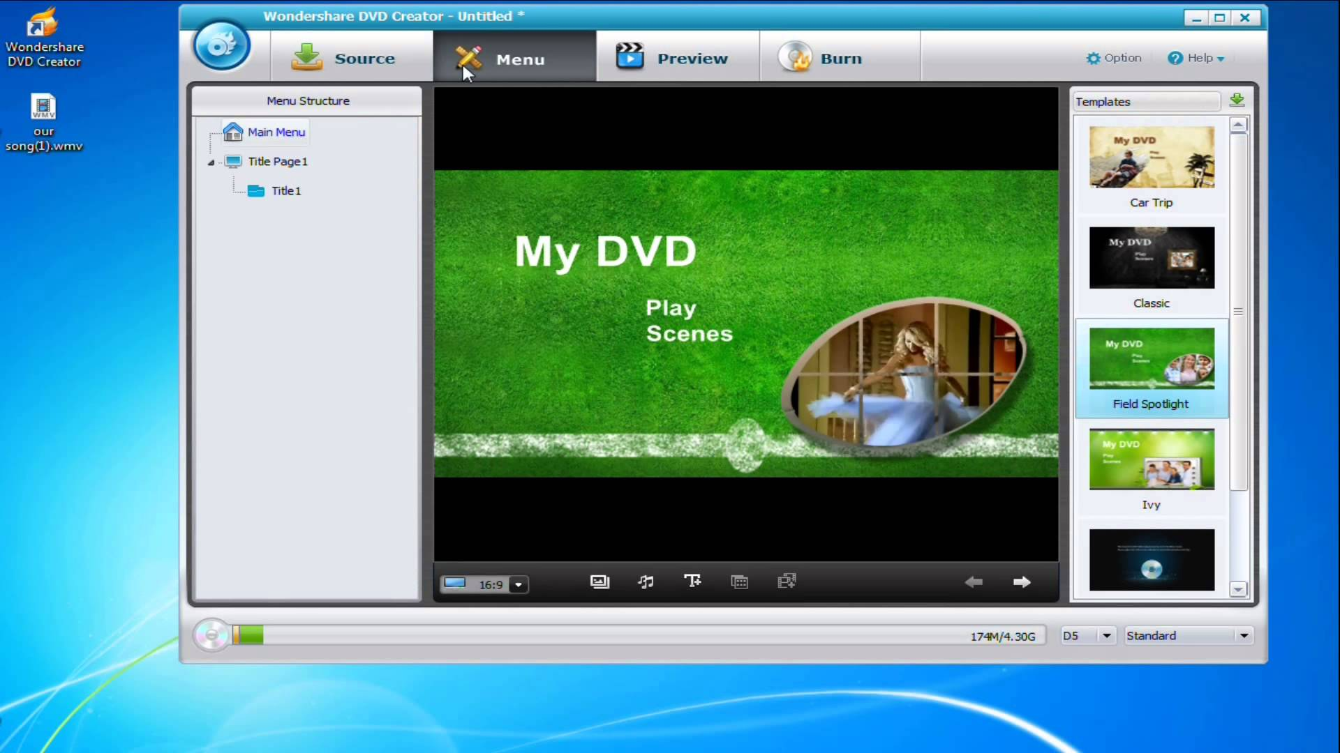 Review: Wondershare DVD Creator - simply but powerful