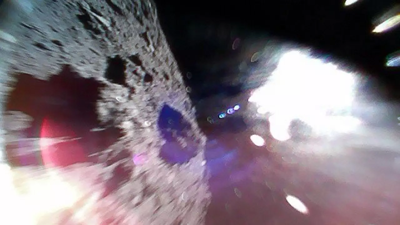 Hayabusa2 successfully deployed two rovers on asteroid Ryugu on Saturday