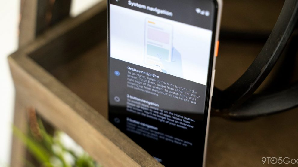 Android Q Beta 5 is Live with revamped navigational gestures