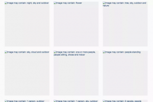 Outage on Facebook reveals its machine learning process alting images in action
