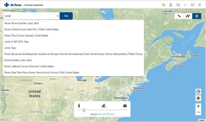 Virtual Location (iOS)