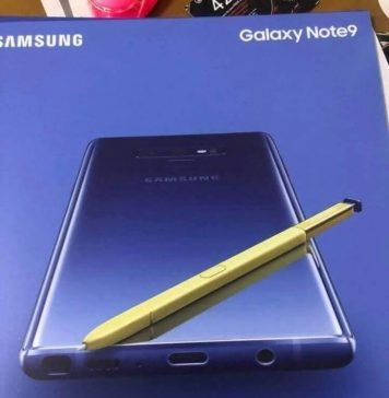 'Accidental' leak by Ice Universe gives insights about Galaxy Note 9