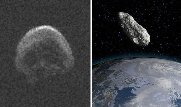A skull-shaped asteroid to pass close to Earth but it won't hurt