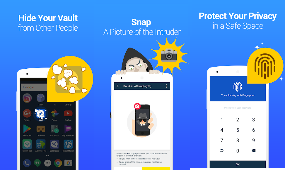 Review: Vault, a must try combination of AppLock and KeepSafe