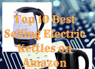 Top 10 Best Selling Electric Kettls on Amazon