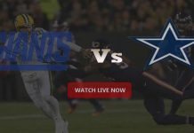 Cowboys VS Giants NFL