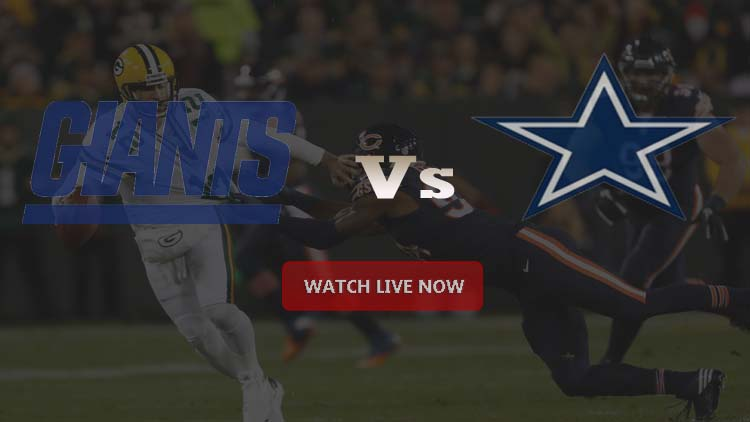 Cowboys VS Giants NFL