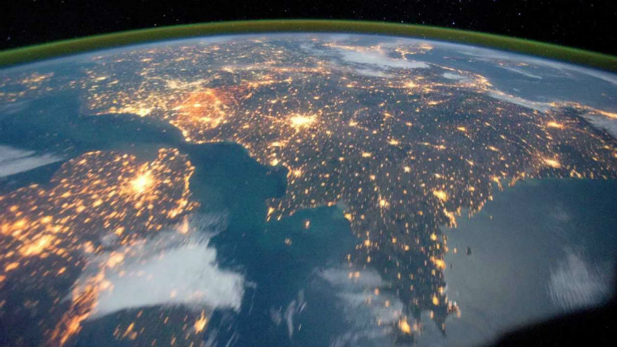 Coronavirus: Watch breathtaking India image on April 5 2020 at 9 pm  captured from Space
