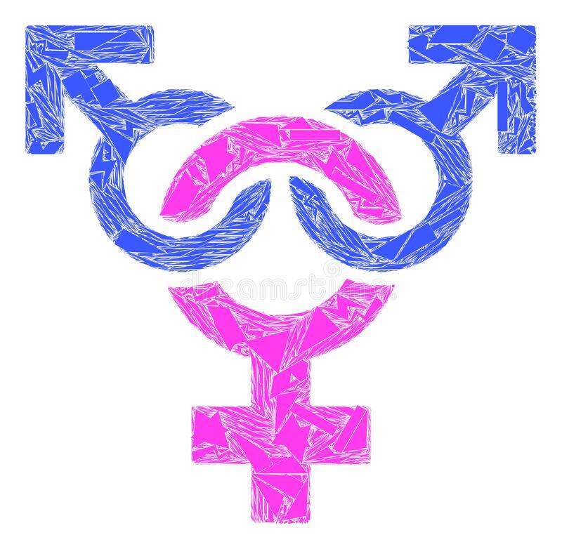 polyandry symbol