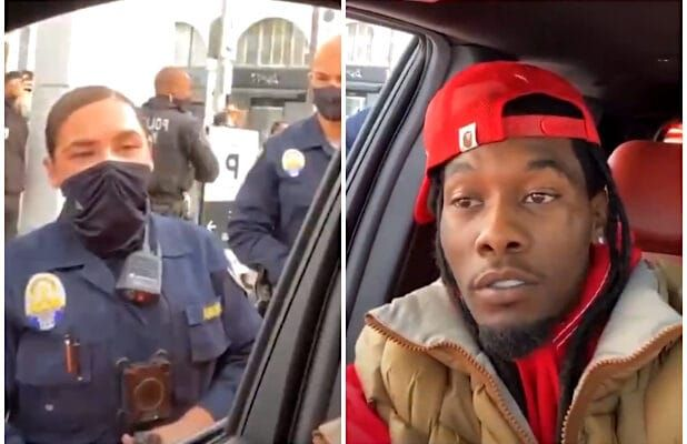 Rapper Offset detained after getting into an altercation with police