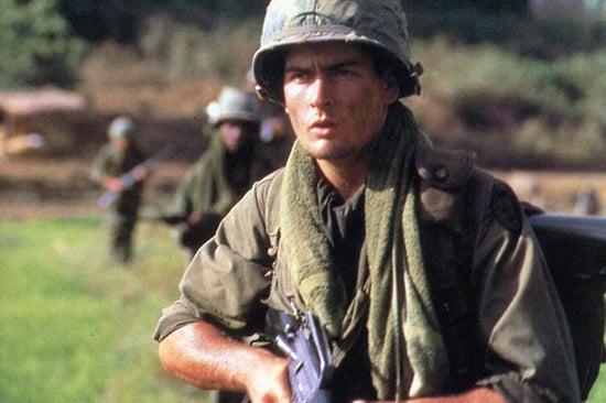 Charlie sheen platoon