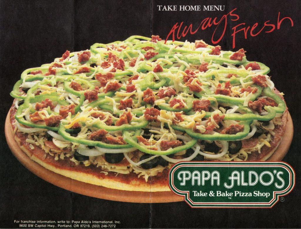 papa aldo's pizza