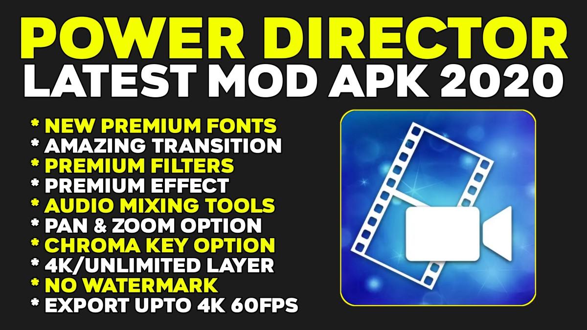 PowerDirector Mod APK 2021: Know how to Unlock it for Free PowerDirector 2021